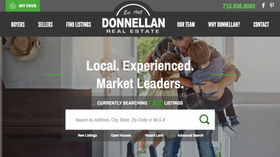 Donnellan Real Estate, a website by JB Systems, LLC.